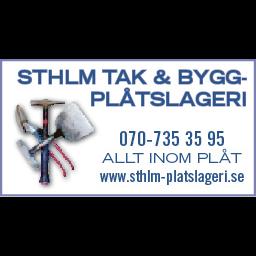 Sthlm Tak & Byggplåtslageri AB